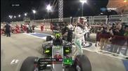Хамилтън триумфира в квалификацията в Бахрейн