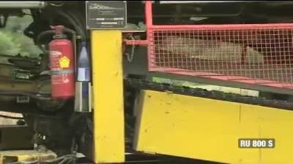 Тази машина полага релси за секунди! Бдж ряпа да яде!!!