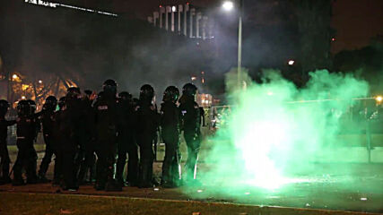 Portugal: Sporting title win celebrations end in violent clashes with police