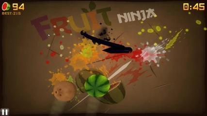 Fruit Ninja Hd Zen Mode