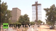Pakistan: 'Asia's biggest cross' erected by businessman in heart of Karachi