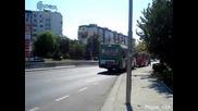 Чавдар 120: Аварийният Даф тегли 3481 след авария по линия 12 в Бургас