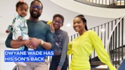 Dwyane Wade defends his son against haters