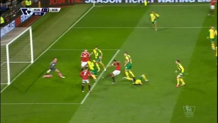 ВИДЕО: Манчестър Юнайтед - Норич 1:2