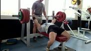 Силова тренировка - клек с пауза и лег с пауза