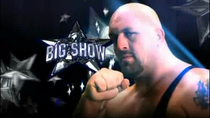 Wreslemania 25 Edge Vs Big Show Vs John Cena