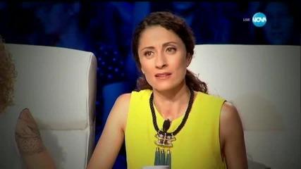 Дарина Йотова представяне - X Factor (20.10.2015)