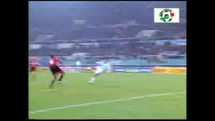 Лацио - Милан - Гол На Casiraghi