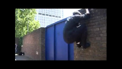 Learn Freerunning and Parkour - Tic Tac To Cat