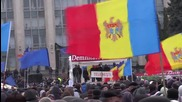 Moldova: Thousands attend anti-government protest in Chisinau