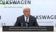 Emissions Scandal 'Broke the Rules' - VW CEO