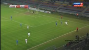 Беларус 1:3 Словакия 12.10.2014