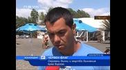 Огромни над 3 м. вълни и мъртво вълнение в Бургас!!!