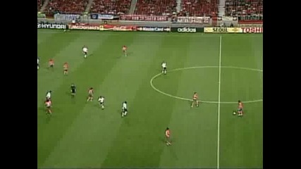Германия-южна Корея 1-0 полуфинал 2002 world cup