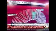 Италианската левица печели в Камарата на депутатите, а десницата - в Сената