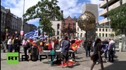 Ireland: Dublin protesters show solidarity with Greek 'Oxi' voters