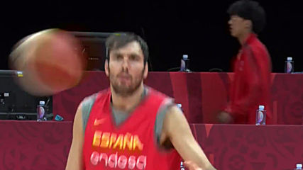 China: Spain and Argentina train ahead of FIBA World Cup final showdown