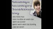 Eenie Meenie by Justin Bieber ft. Sean Kingston Lyricsdeutsche Ubersetzung Hd