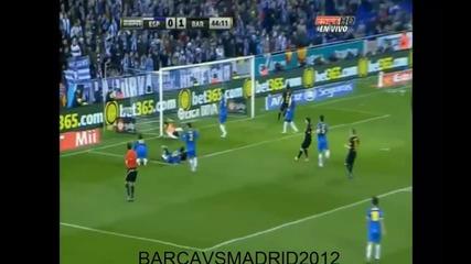 Еспаньол - Барселона 1 - 1 08.01.2012