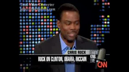 Chris Rock On Larry King [live At Cnn 9/25/08] 1/2