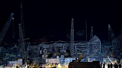 Lebanon: Work continues at Beirut's port through night in aftermath of explosion