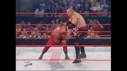 Badd Blood 04 Chris Benoit vs Kane (world Heavyweight Champion)