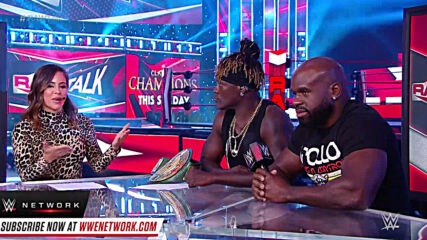 R-Truth motivates Apollo Crews: Raw Talk, Sept. 21, 2020 (WWE Network Exclusive)
