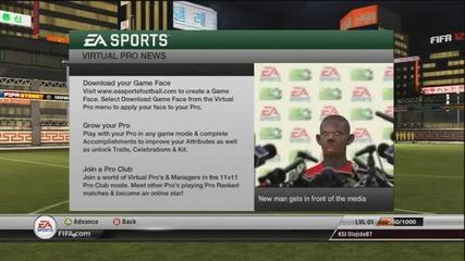 Fifa 12 Правене на играч ( Непрестанен Смях ) !