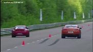 Nissan Gtr Ams Alpha 12 vs Porsche 911 Turbo R911 Switzer