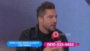 David Bisbal se sumo a Un sol para los chicos Argentina 2017 / Entrevista