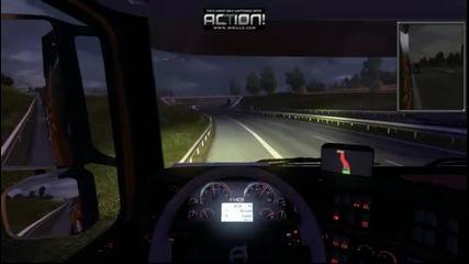 Euro Truck Simulator 2 - ненормално каране (part2)