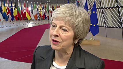 Belgium: 'I don't expect immediate breakthrough' - May on Brexit talks with EU