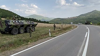 Serbia: Army on heightened alert as Kosovo border tensions escalate