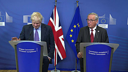 Belgium: 'We have a deal' - Juncker and Johnson announce new Brexit plan