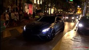 985 Hp Mercedes‑benz S63 Amg Coupe Mansory Diamond Edition Driving in Cannes !