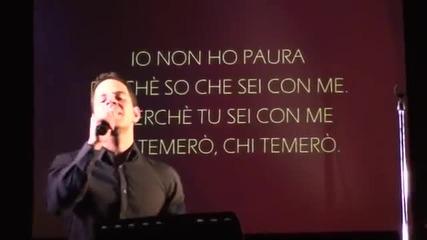 Non Mi Lascerai Mai con Giorgio Ammirabile Asti 14 maggio 2011,христианска музика италианска
