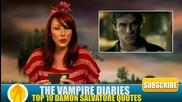 Top 10 Damon Salvatore Quotes (birthday Tribute for Ian )