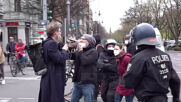 Germany: At least 2 arrests as scuffles break out during Querdenken march