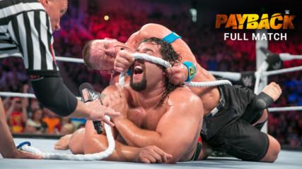 "John Cena vs. Rusev - U.S. Title ""I Quit"" Match: WWE Payback 2015 (Full Match - WWE Network Exclusive)"