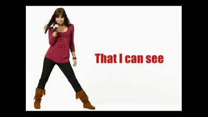 Camp Rock Who Will I Be With Lyrics Demi Lovato