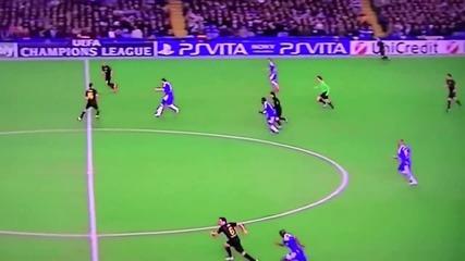Дрогба Гол Челси - Барселона