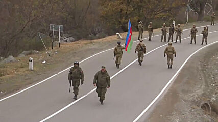 Nagorno-Karabakh: Russian peacekeepers oversee transfer of Kalbajar district to Azerbaijan