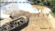 Ексклузивни кадри от влаковата катастрофа край Калояновец