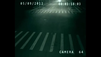 Телепортиране заснето от камера в Китай