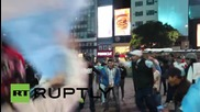 Argentina: Football fans get rowdy after losing Copa America to Chile