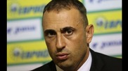 АУДИО: Пресконференцията на Ивайло Петев и Ивелин Попов преди мача с Италия
