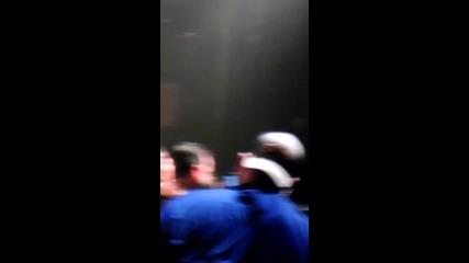 Thalia cuando bromeo con un fan