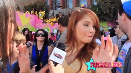 Debby Ryan at the Kids Choice Awards