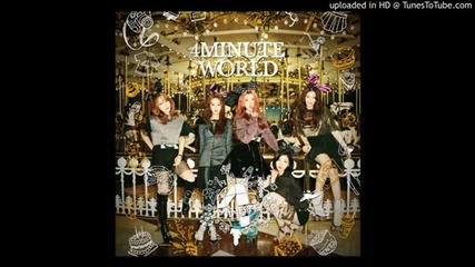 4minute - I'll Tell You [4minute World]