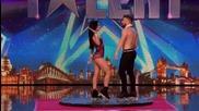 Невероятно изпълнение в Англия търси талант Billy and Emily Britain's Got Talent